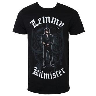Lemmy Kilmister Férfi póló - Memorial Statue - Fekete - ROCK OFF, ROCK OFF, Motörhead