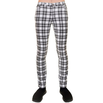 3RDAND56th unisex nadrág - CHECKED SKINNY JEANS, 3RDAND56th