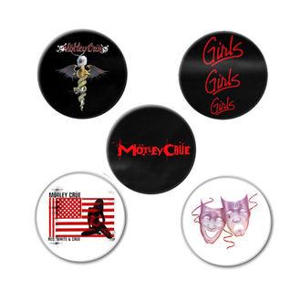 Mötley Crüe Kitűzők- DR FEELGOOD - RAZAMATAZ, RAZAMATAZ, Mötley Crüe