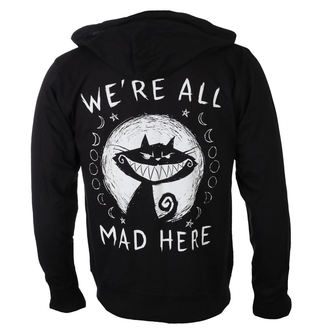kapucnis pulóver unisex - We're All Mad Here - Akumu Ink, Akumu Ink