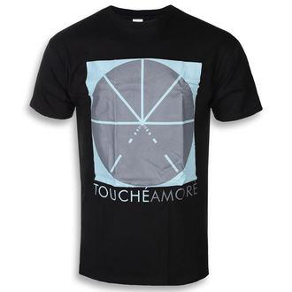 tričko pánské Touche Amore - Summer Logo - Black - KINGS ROAD, KINGS ROAD, Touche Amore