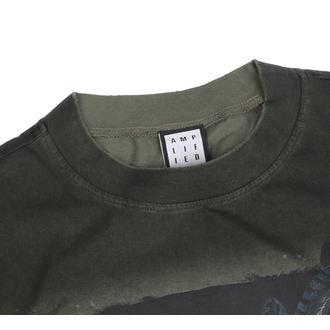 póló férfi - KHAKI - AMPLIFIED, AMPLIFIED