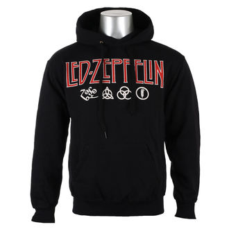 kapucnis pulóver férfi Led Zeppelin - LOGO & SYMBOLS - PLASTIC HEAD, PLASTIC HEAD, Led Zeppelin