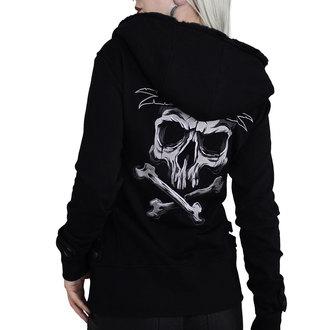 kapucnis pulóver női - BACK2BLACK - HYRAW, HYRAW