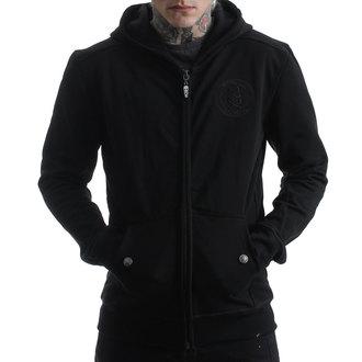kapucnis pulóver férfi - BACK 2 BLACK - HYRAW, HYRAW