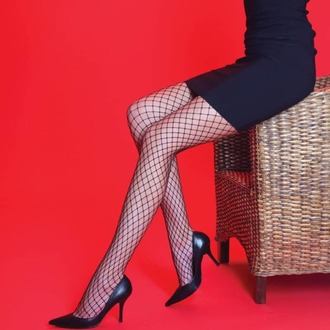 LEGWEAR Harisnyanadrág - Medium net - Fekete, LEGWEAR