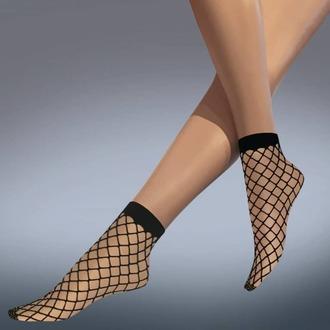 LEGWEAR zokni (harisnyanadrág) - whale net ankle highs - fekete, LEGWEAR